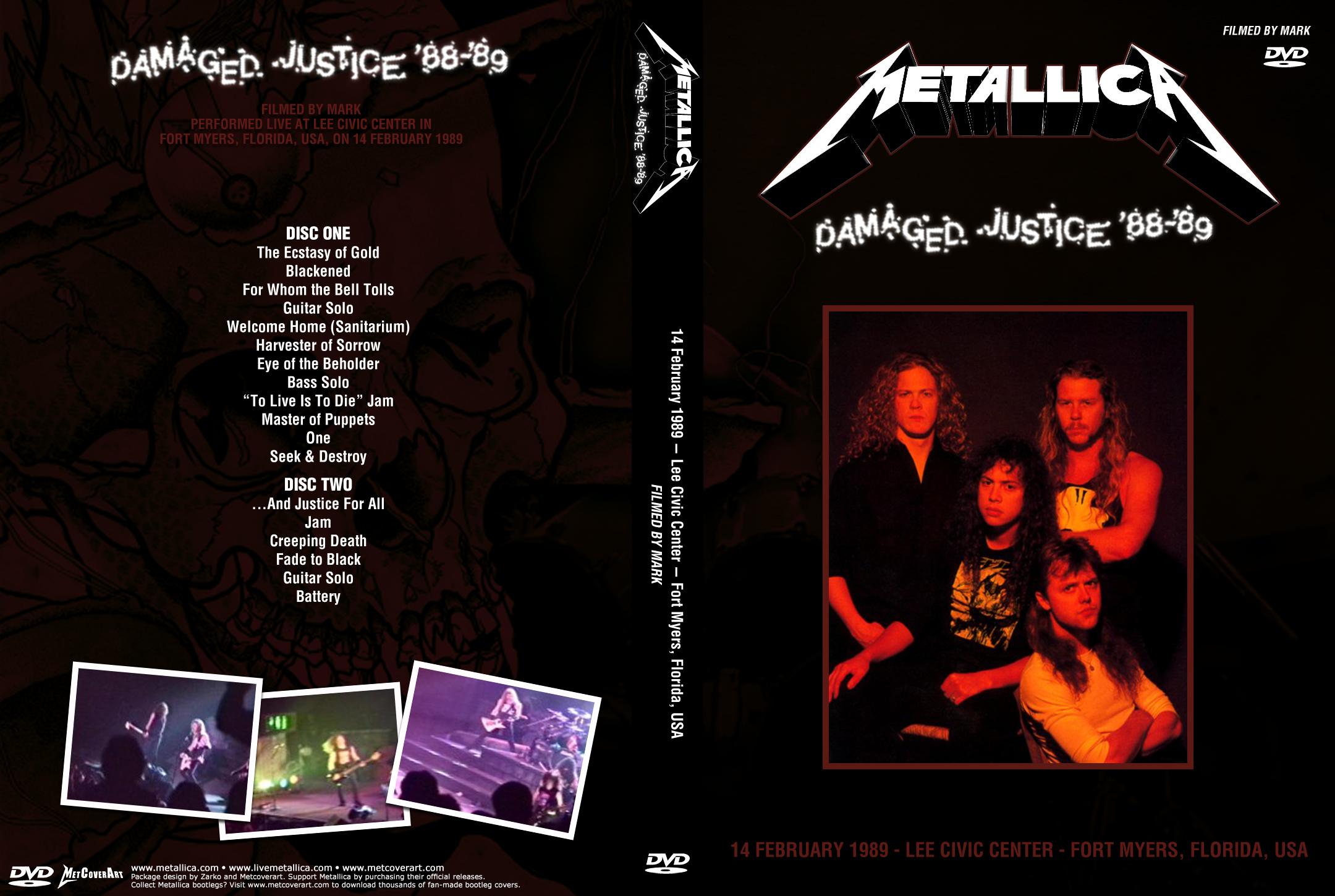 Sjmikes Metallica Trading Site Live Video Recordings Powered