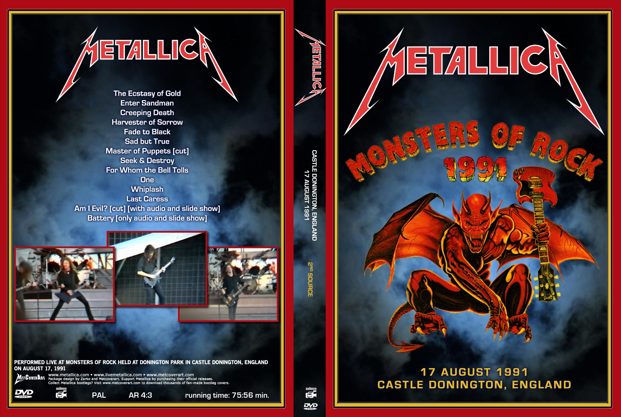 Sjmike's Metallica Trading Site  :  Live Video Recordings