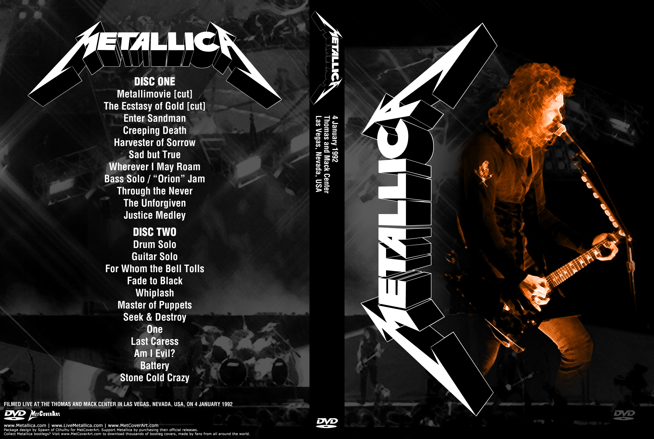 The gallery for --> Metallica Live 1992