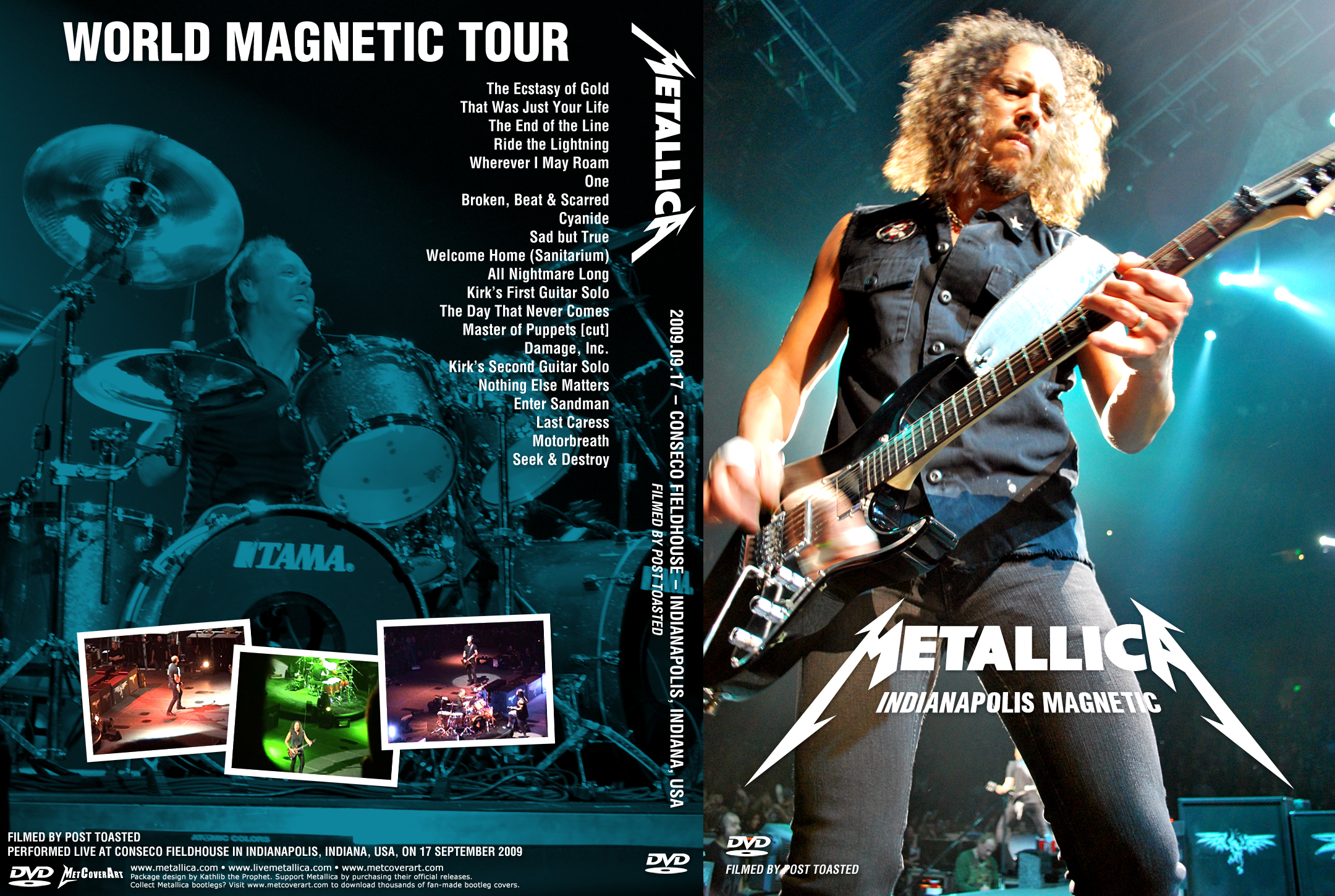THE HISTORY OF METALLICA - HD Wallpapers