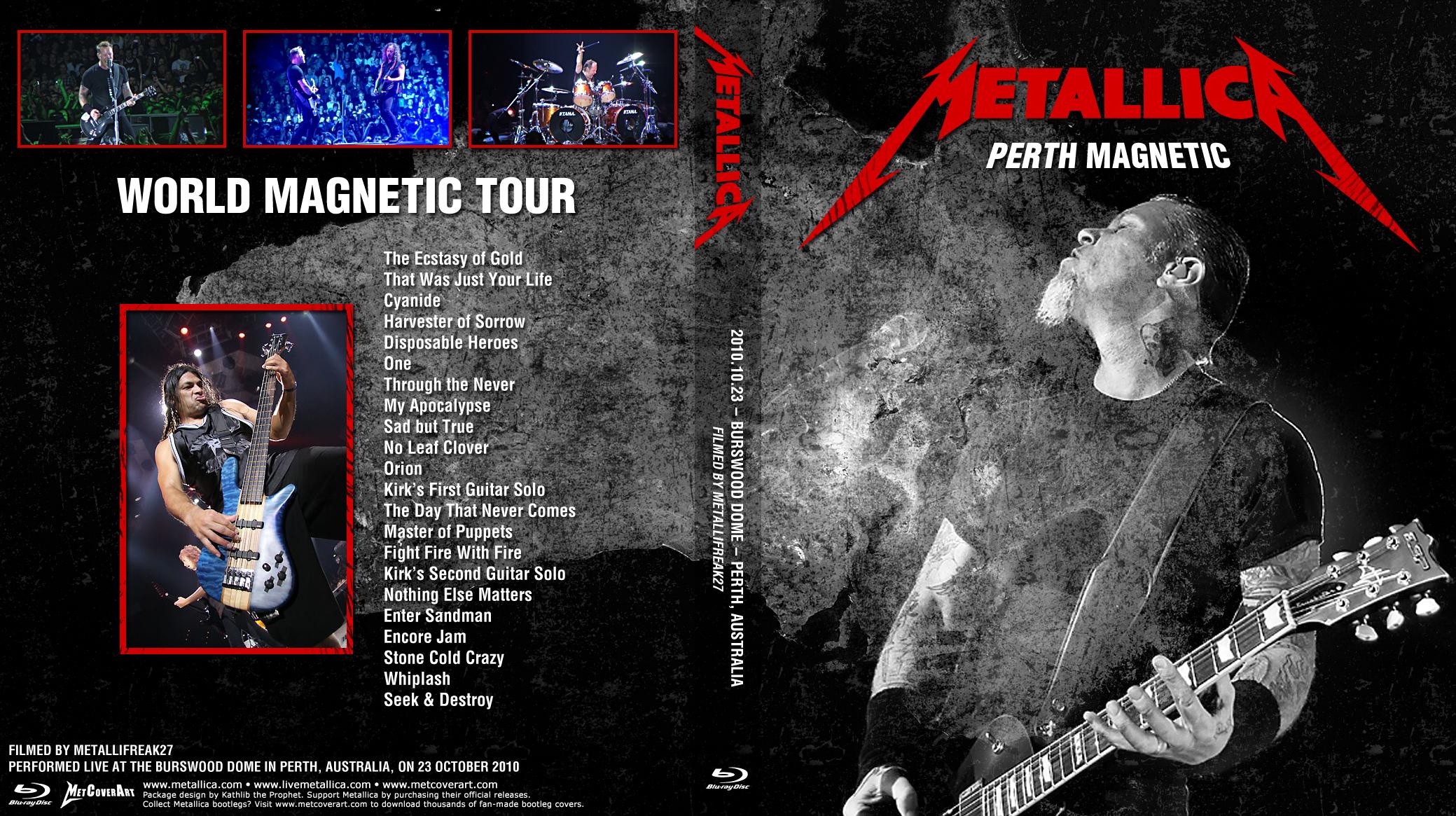 Sjmike's Metallica Trading Site .:. Live Video Recordings ...