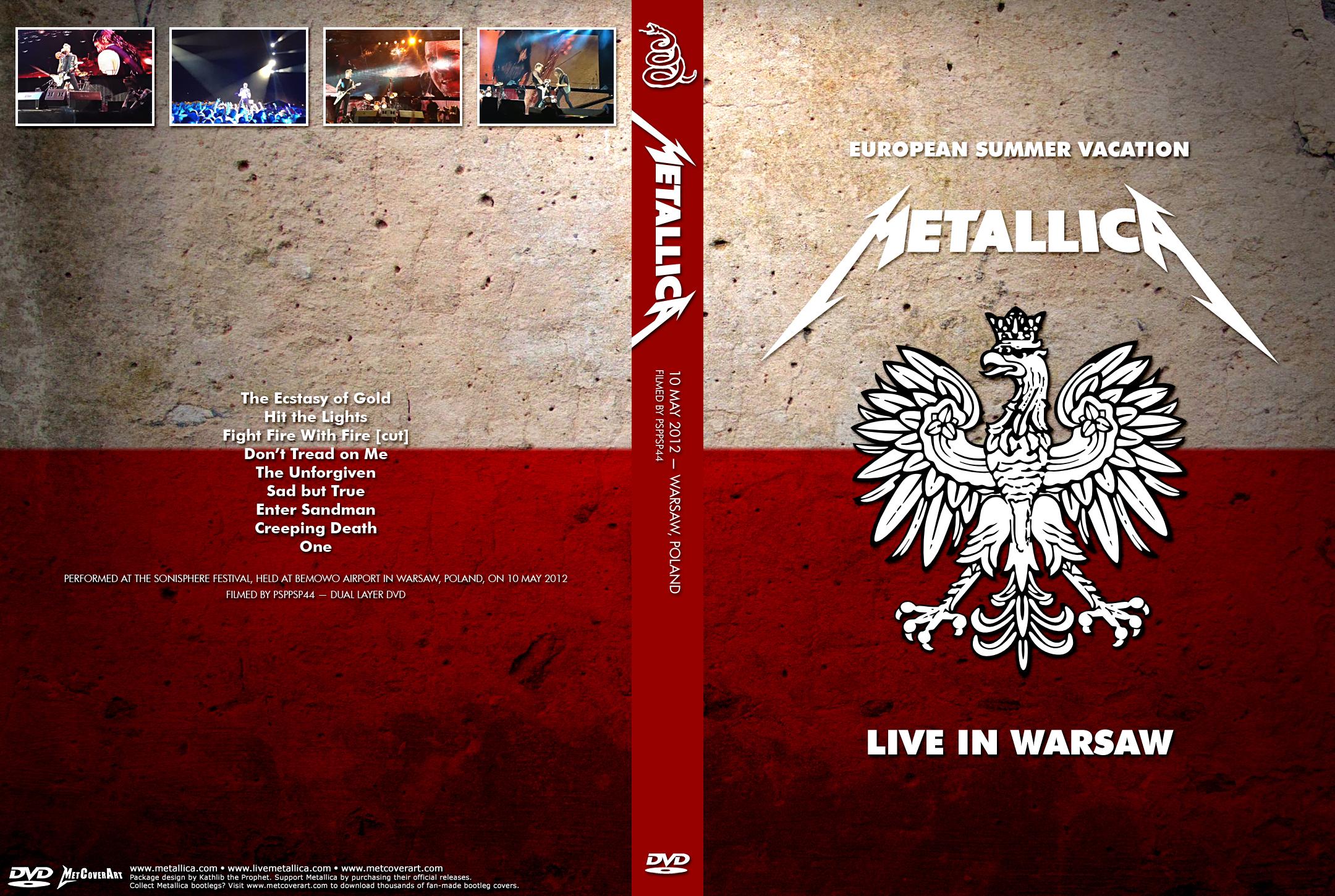 Sjmike's Metallica Trading Site  :  Live Video Recordings (Powered