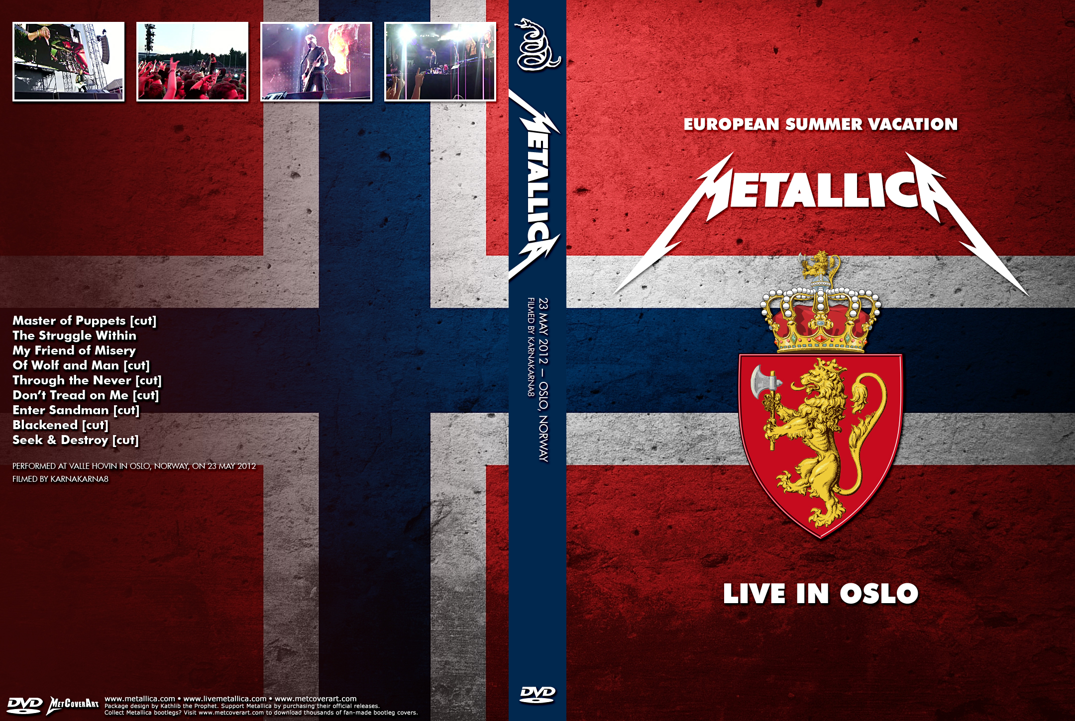 Sjmike's Metallica Trading Site  :  Live Video Recordings